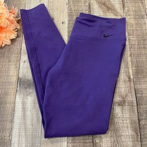 Nike Purple/Blue Dry Fit Leggings size Medium